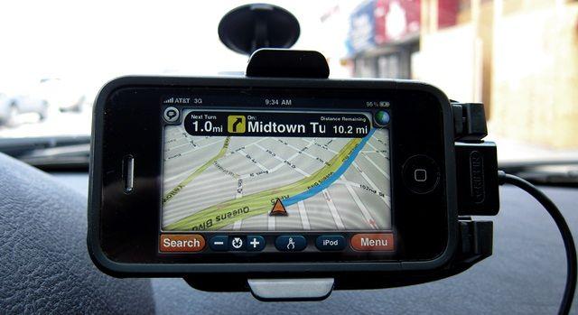 Aksesoris Dalam Mobil Smartphone GPS Holder