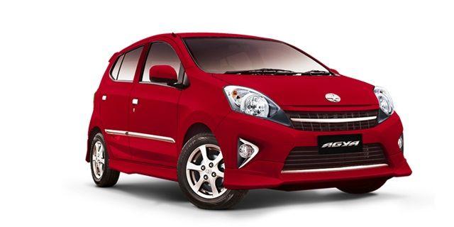 Toyota Agya mobil 100 jutaan terbaik