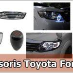 10 Aksesoris Toyota Fortuner Terbaik [Eksterior & Interior]