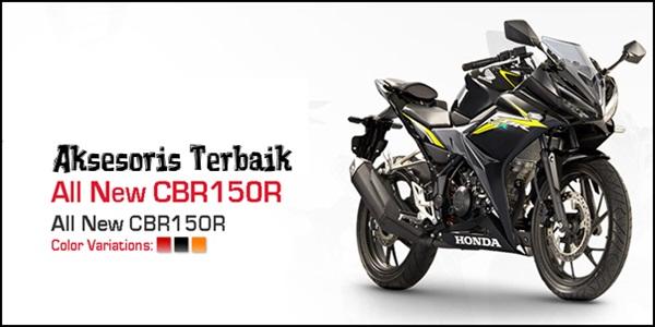 Aksesoris All New Honda CBR150R 2016 Facelift Terbaik
