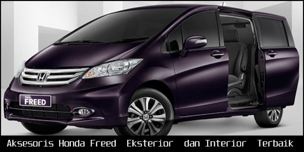 Aksesoris Honda Freed [Eksterior dan Interior] Terbaik