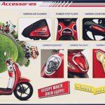 10 Aksesoris Variasi Honda Scoopy Terbaik dan Terbaru