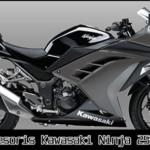 10 Aksesoris Kawasaki Ninja 250 Fi Variasi Murah dan Terbaik