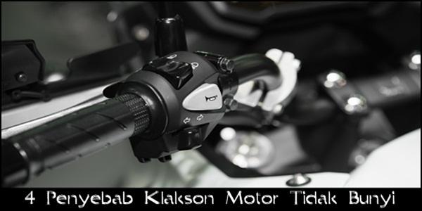 Cara Mengatasi Klakson Motor Tidak Bunyi