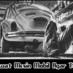 Tips Cara Merawat Mesin Mobil Agar Tetap Awet dan Prima